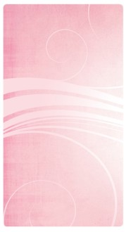 Pink Swirls Banner Widget