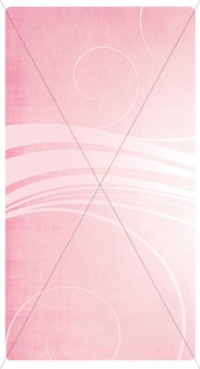 Pink Swirls Banner Widget