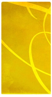 Yellow Swirls Banner Widget