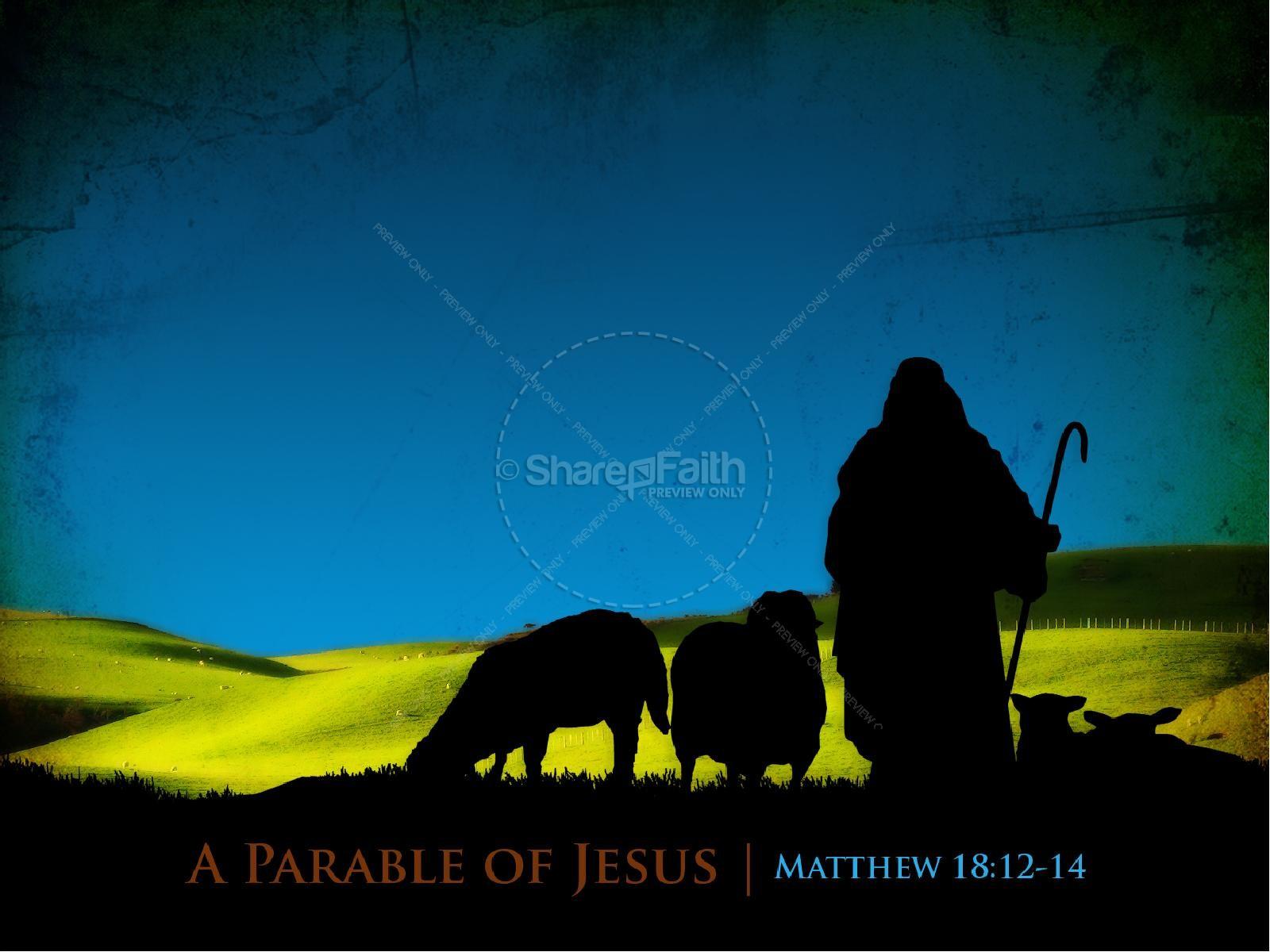 Lost Sheep Sermon PowerPoint | slide 4