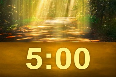 Worship Video Countdown Timer
