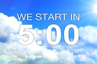 Five Minute Service Countdown Video