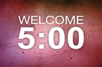 Five Minute Worship Countdown