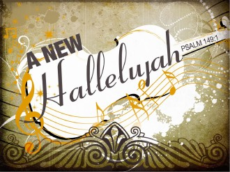 New Hallelujah Sermon PowerPoint