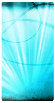 Light Blue Rays Website Sidebar