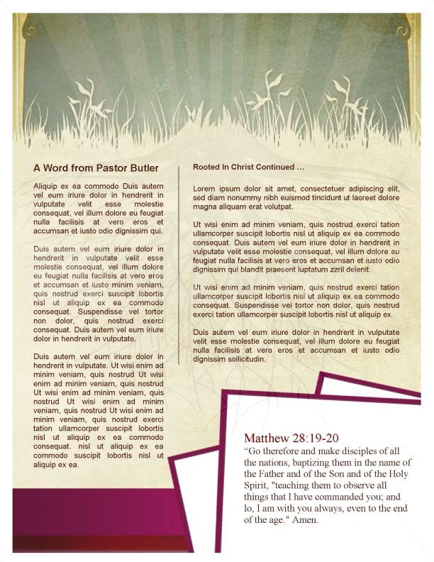 Tree Church Newsletter