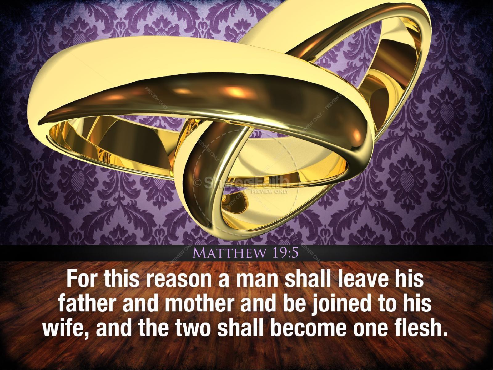 Marriage PowerPoint Sermon | slide 4
