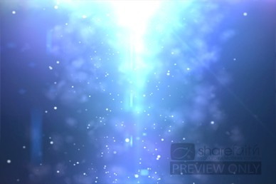 Blue Abstract Video Loop