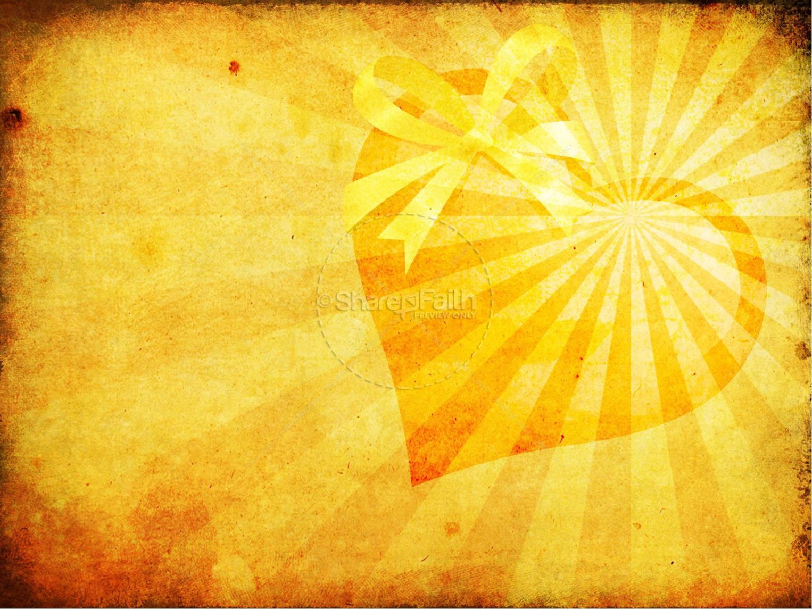 The Gift of Salvation PowerPoint Sermon