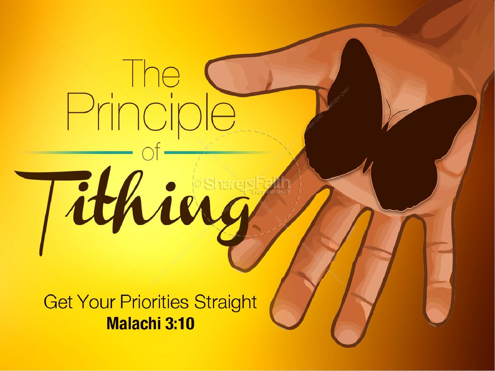 The Principle of Tithing PowerPoint