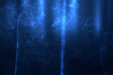 Blue Smoke Worship Video Loop