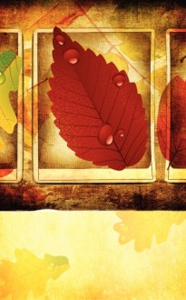 Autumn Season Church Bulletin Cover