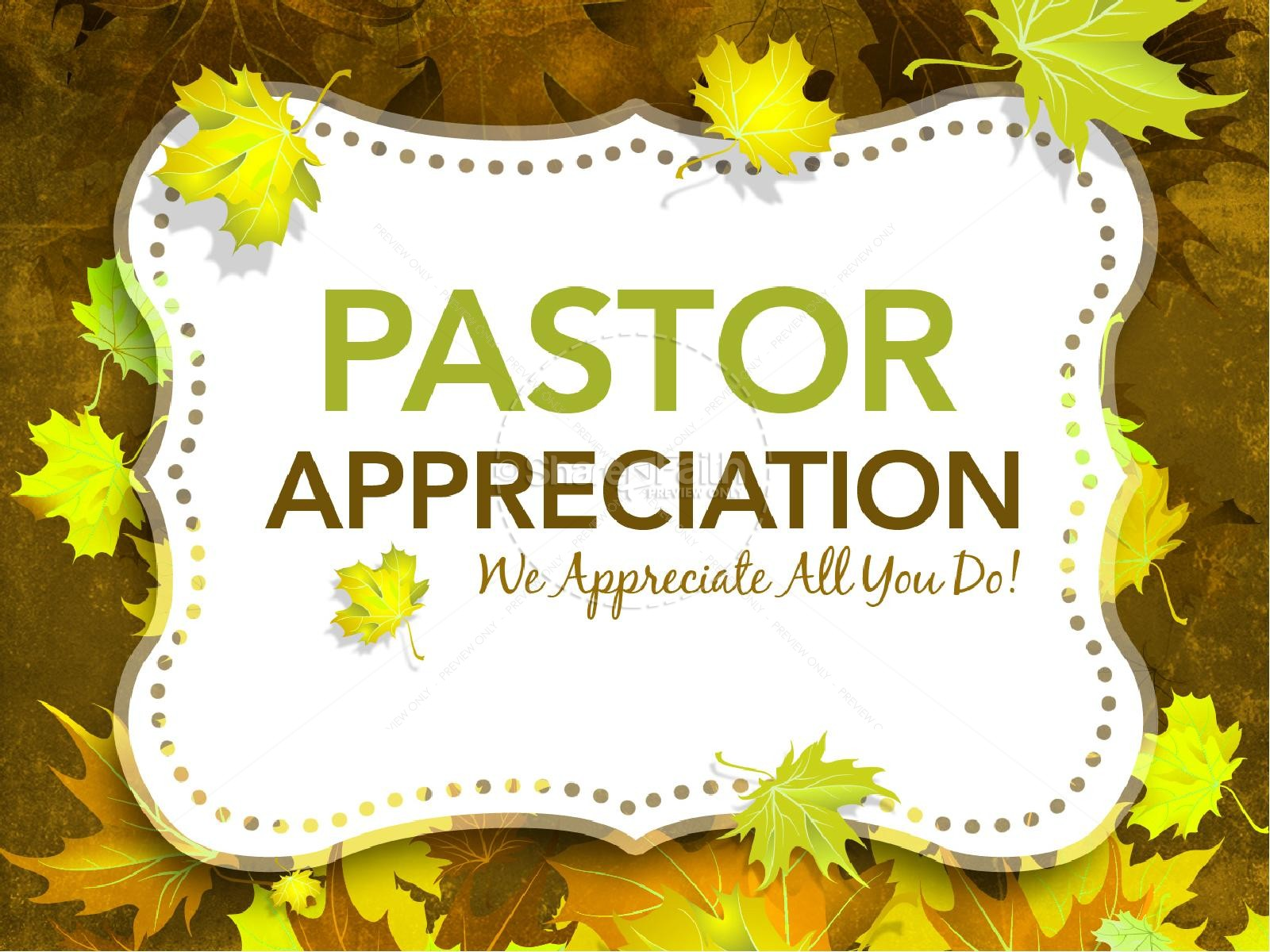 Pastor Appreciation PowerPoints | slide 1