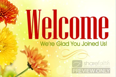 Worship Service Welcome Video