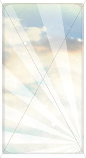 Heavenly Sky Website Sidebar