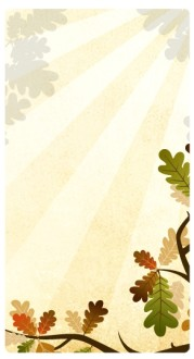 Oak Leaves Website Sidebar
