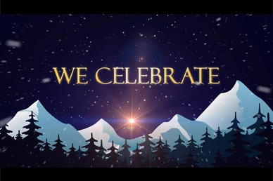 We Celebrate Christmas Video