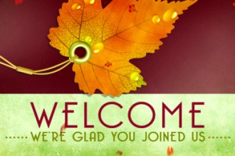 Fall Deco Church Welcome Video
