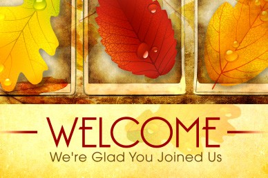 Fall Video Church Welcome Loop