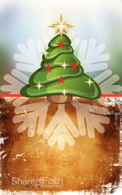Christmas Tree Program Art
