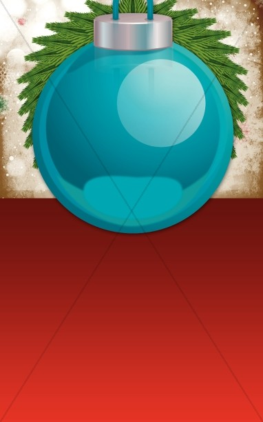 Merry Christmas Bulletin Program Template