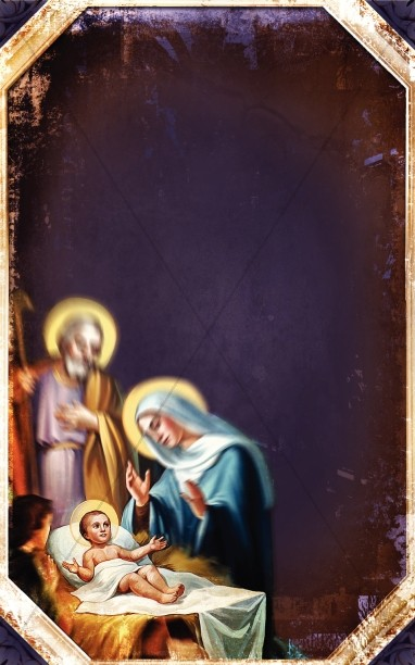 The Birth of Jesus Church Bulletin Cover