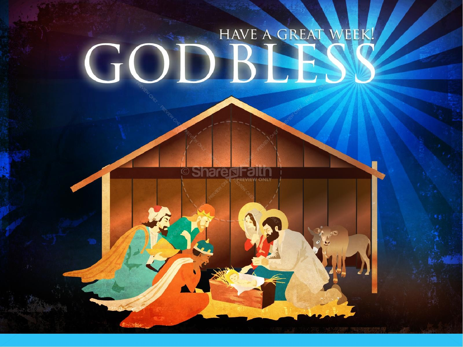 The Nativity Story Christmas PowerPoint | slide 3