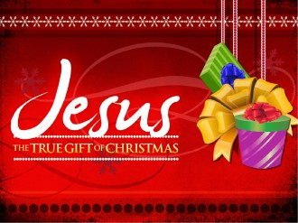 Jesus Christmas Gift PowerPoint Sermon
