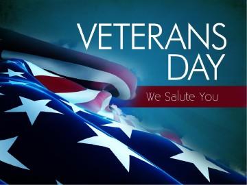 Veterans Day PowerPoint Slideshow