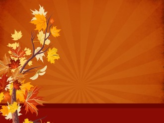 Joy of Thanksgiving Worship Background
