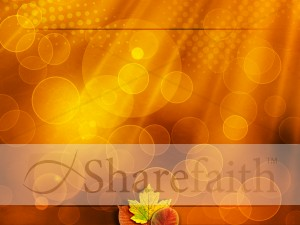 Happy Thanksgiving Worship Background Slide