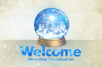 Joy to the World Christmas Welcome Video