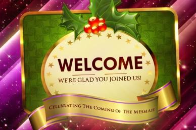 Christmas Cheer Welcome Video Loop