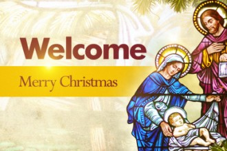 Christmas Welcome Church Video Loop