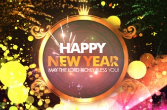 New Year Blessing Video Loop
