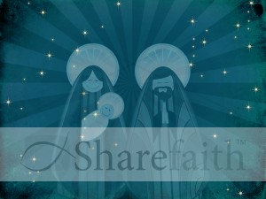 Nativity Worship Background Slides