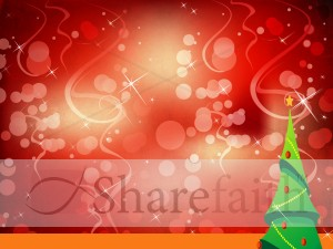 Christmas Tree Worship Background Slide