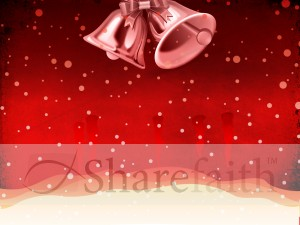 Jingle Bells Background Slide