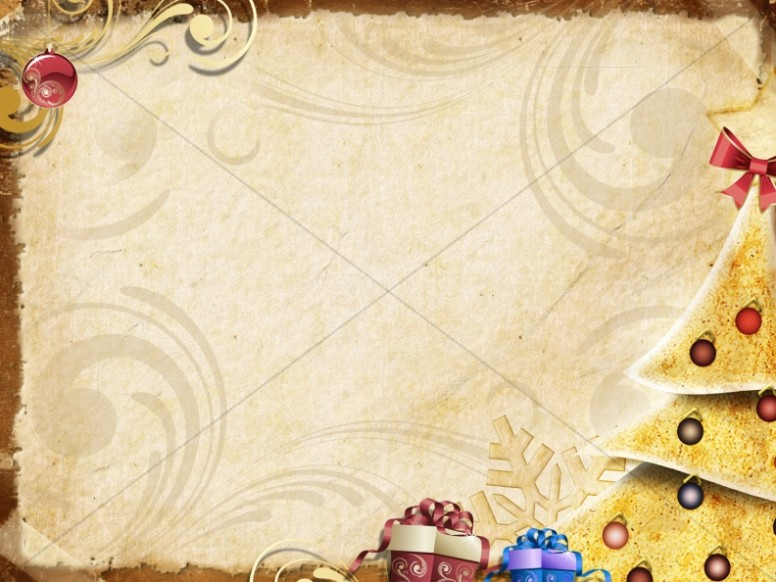 O Christmas Tree Worship Background