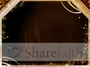Christmas Frame Worship Slide