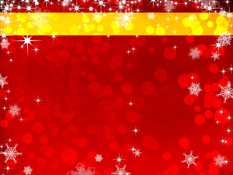 Christmas Snowing Worship Background