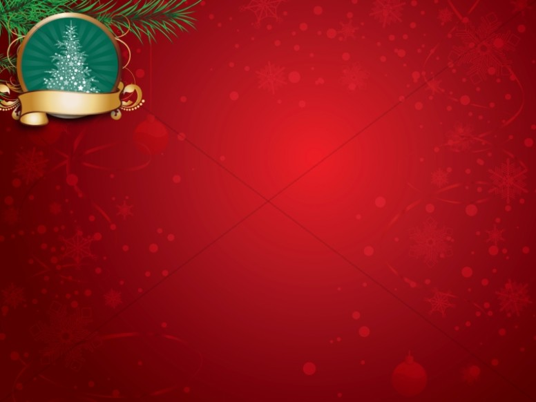 Christmas Scene Worship Background