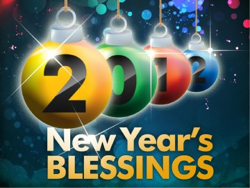 New Year's Blessings PowerPoint Sermon Template