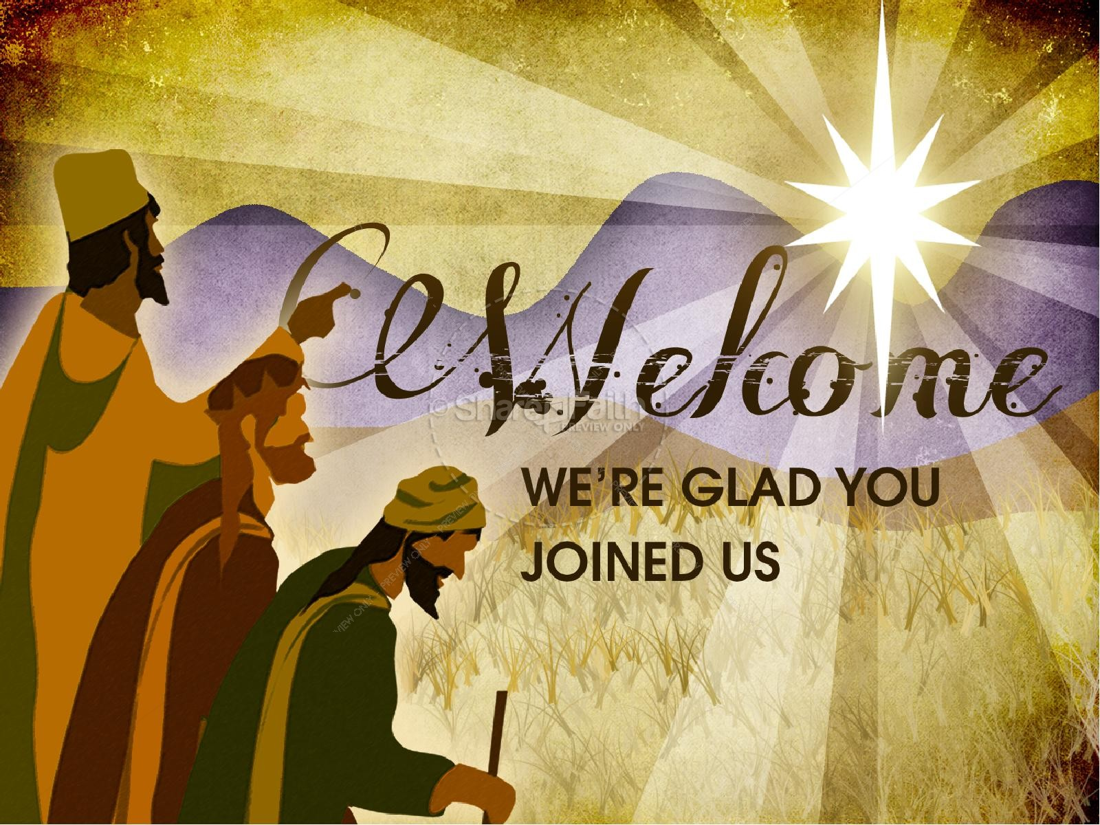 Three Kings PowerPoint Template | slide 2