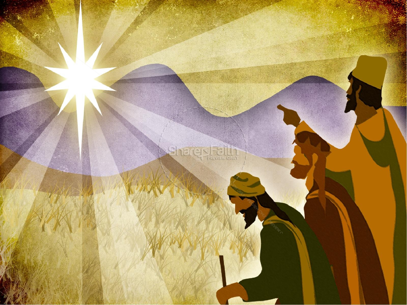 Three Kings PowerPoint Template