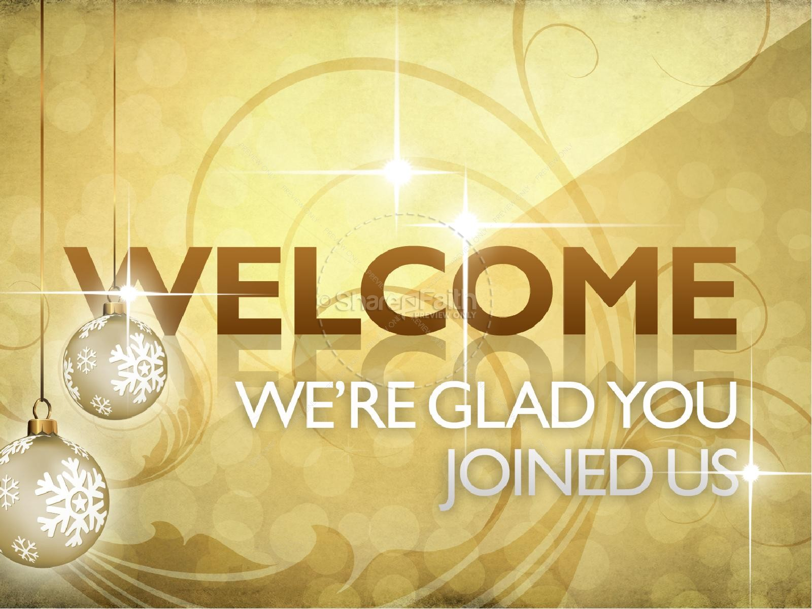 New Year Welcome PowerPoint | slide 2