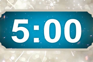 Happy New Year Countdown Timer Video