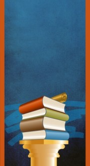Book Stack Banner Widget