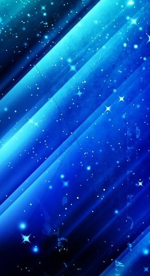 Blue Stars Banner Widget