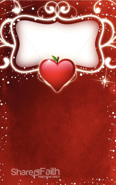Valentine Bulletin Love Bulletin Covers